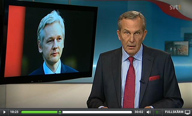 Assange far svenskt pr stod